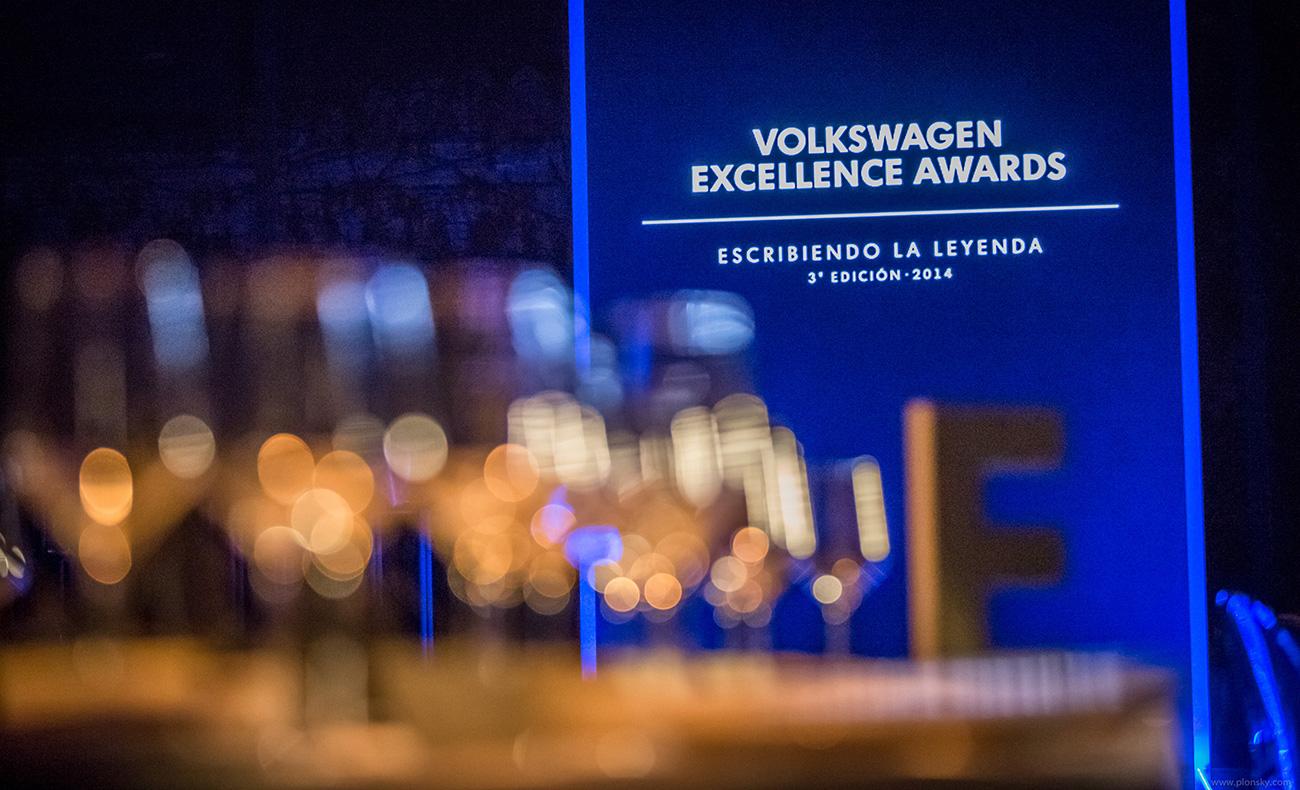 Premios Volkswagen excellence awards en Granada