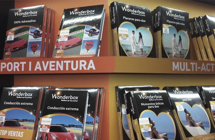 espacios de venta Wonderbox