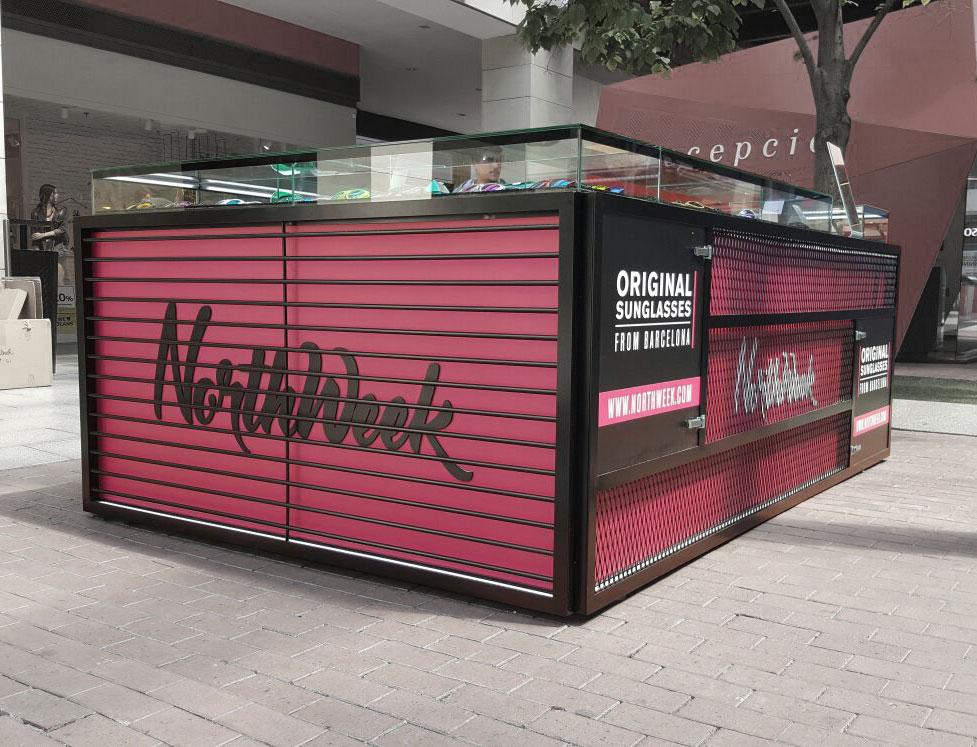 espacios temporales Northweek en el c.c La Maquinista