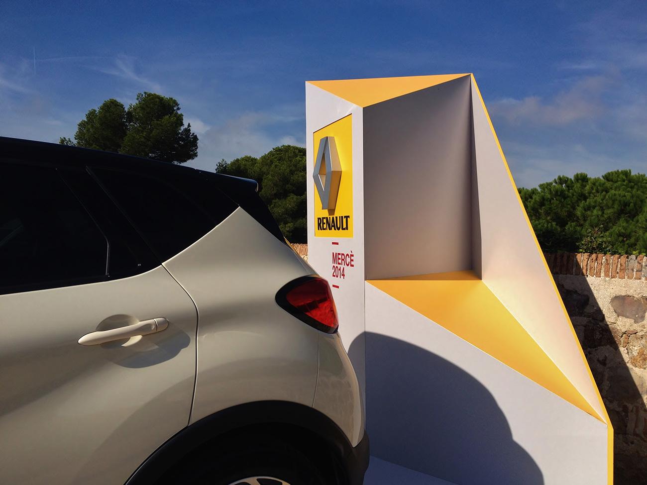 Espacios exteriores Renault