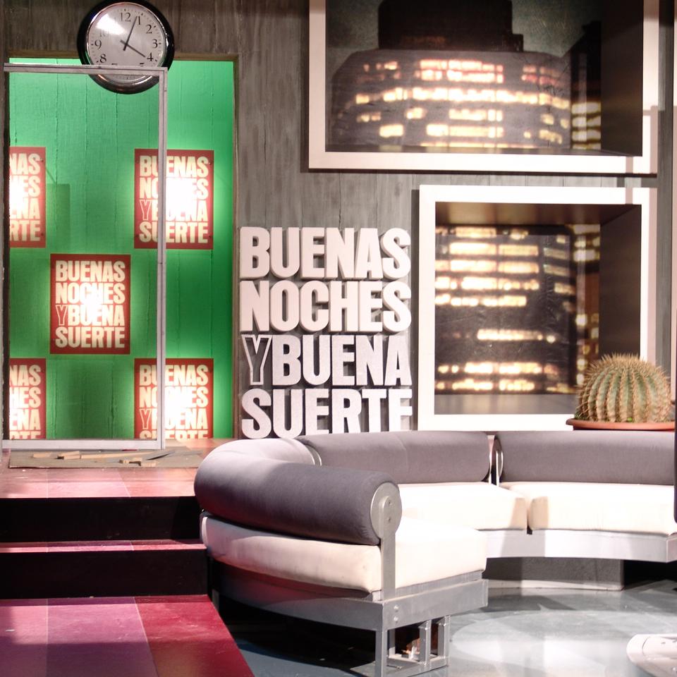 TV buenas noches y buena suerte