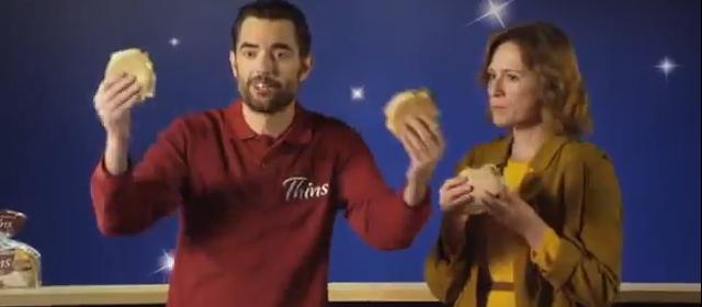 ANUNCIO SPOT Nuevo Spot Sandwich Thins con Dani Mateo