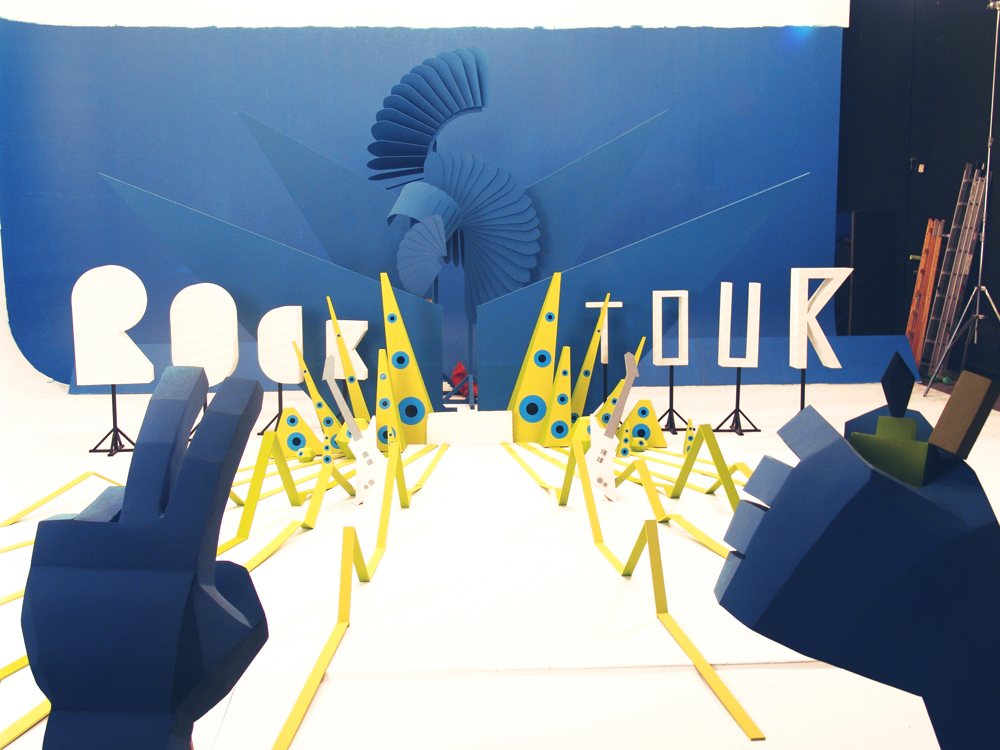 ANUNCIO SPOT rock tour movistar