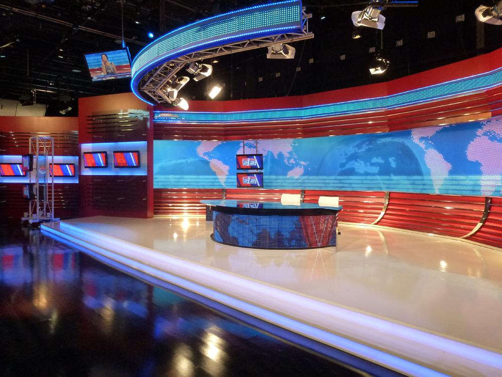 TV las noticias de las dos