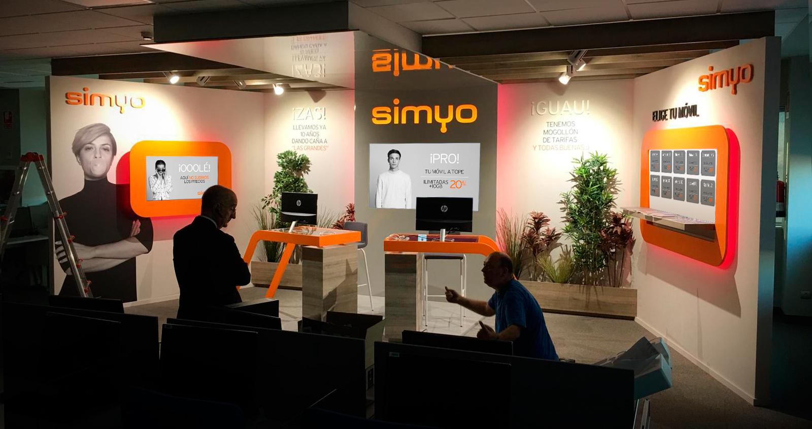 Simyo tienda virtual metric3 for Oficinas simyo